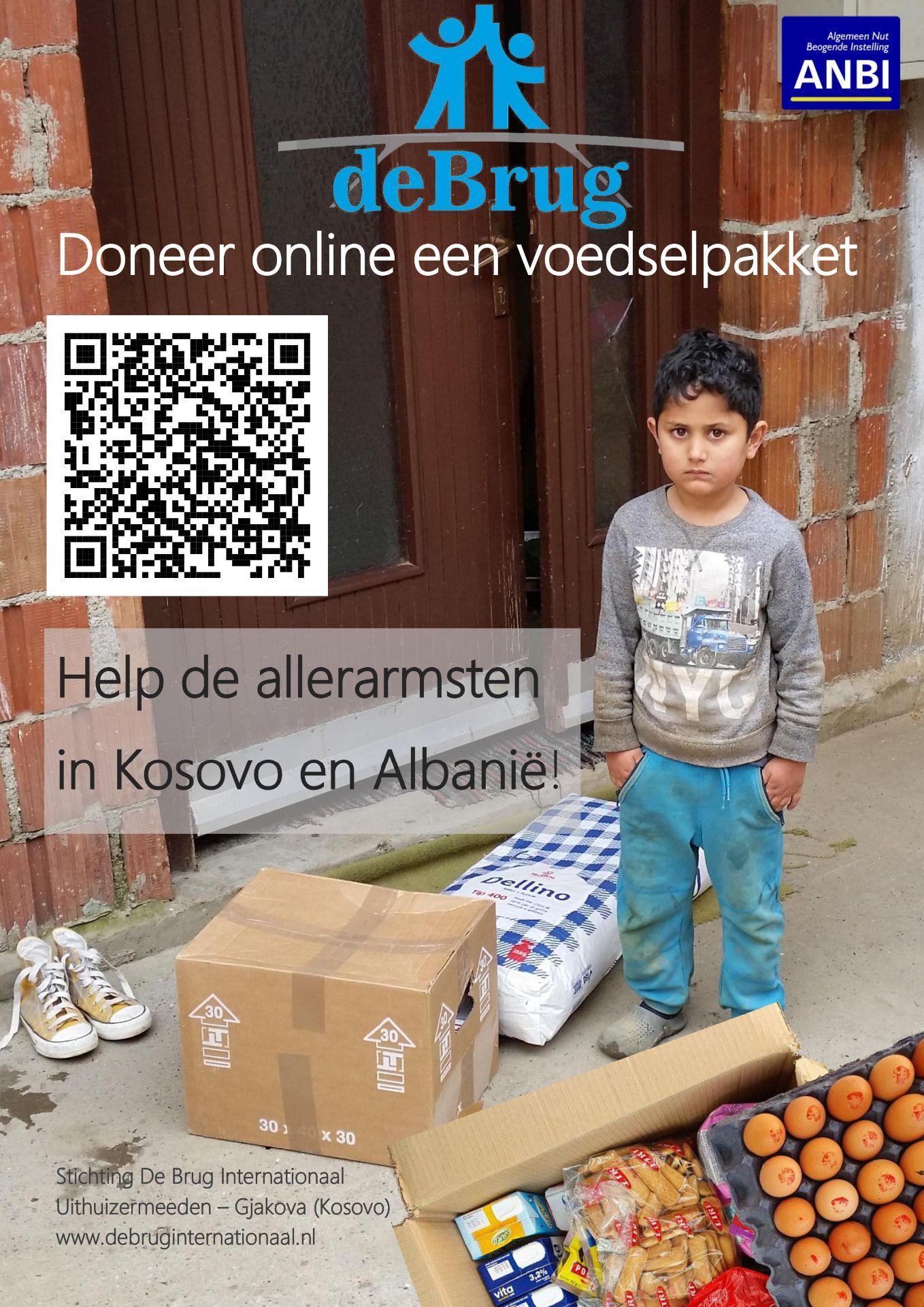 Voedselpakketten actie voor Kosovo & Albanië