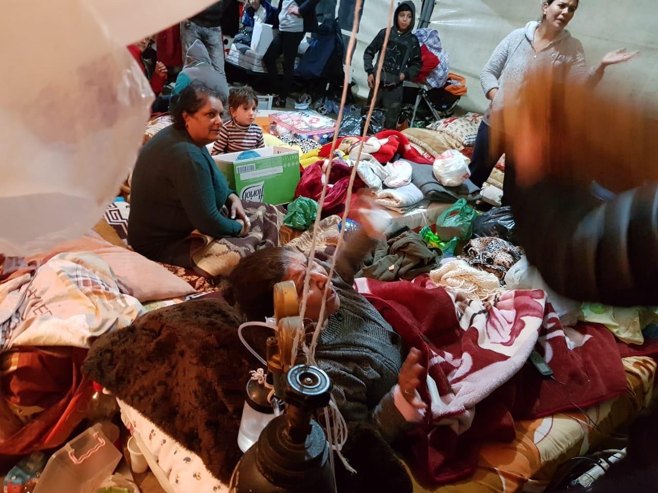 Hulp slachtoffers aardbeving Albanië