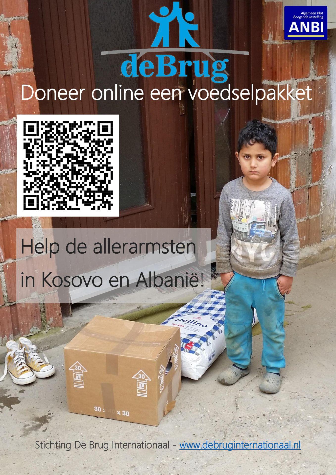 Doneer online een voedselpakket!