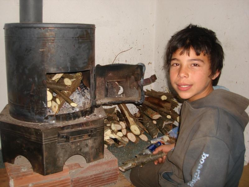 Doneren brandhout